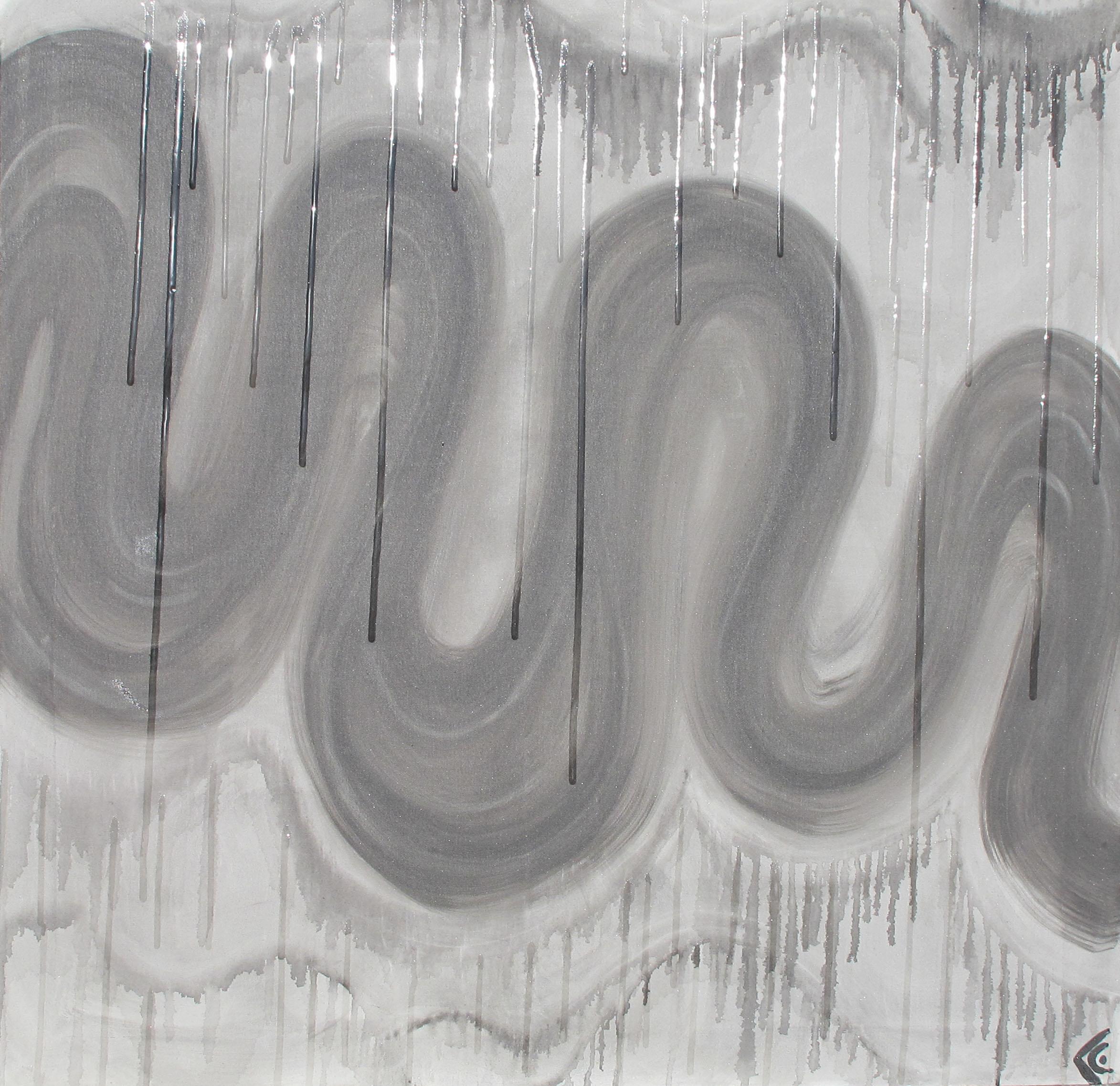 Tortueux gris resine