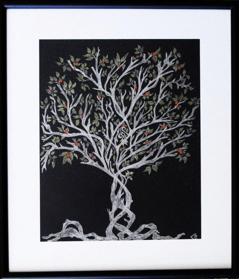 arbre argent chantal vieira