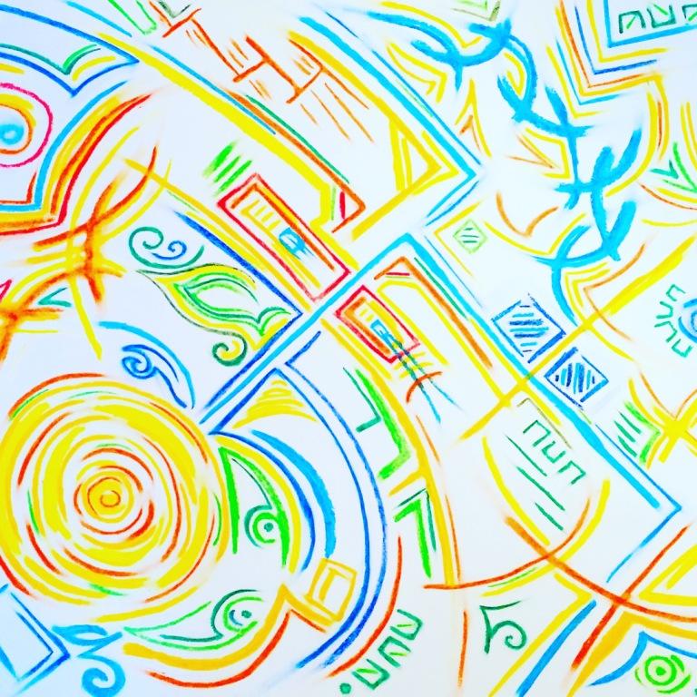 dessin graphique couleur