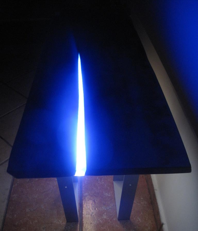 table led allumée